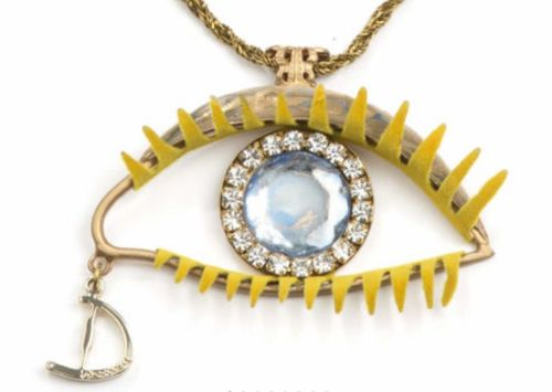 Daniela Dallavalle, ICONIC EYE NECKLACE,  LUNEDÍ, kaulakoru, tilaustuote
