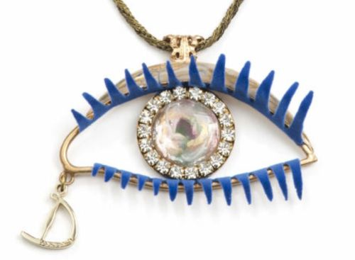 Daniela Dallavalle, ICONIC EYE NECKLACE,  MERCOLEDÍ, kaulakoru, tilaustuote